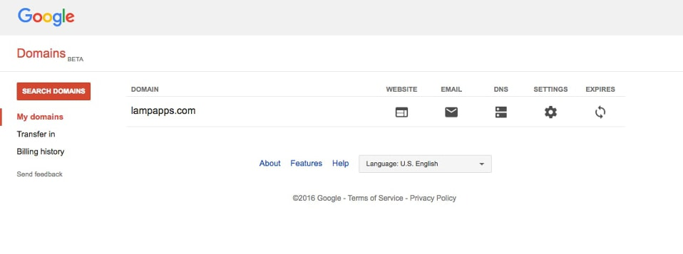 Google Domain Manager